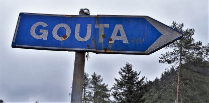 Direction in French is to indicate the course of a route